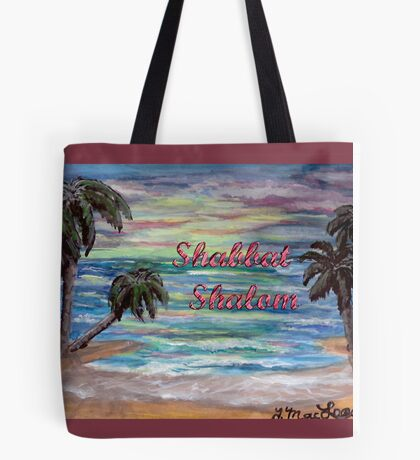 Tropical Shabbat Tote Bag