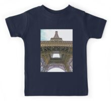 To the top of the Eiffel Tower, Paris Kids Tee