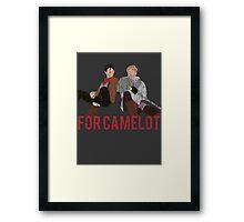 For Camelot Framed Print