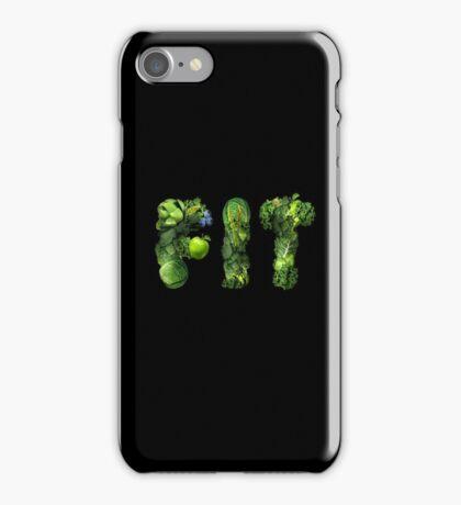 Vegetables Spelling Fit iPhone Case/Skin