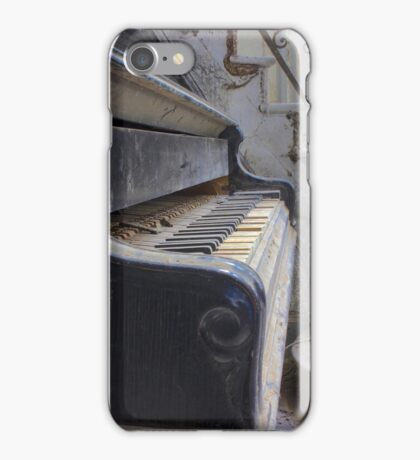 The Silent Piano. iPhone Case/Skin