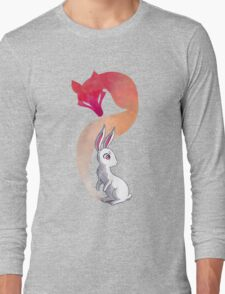Rabbit and a Fox Long Sleeve T-Shirt