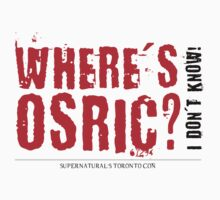 Where's Osric? by Shercockies