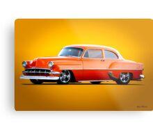 1954 Chevrolet Custom Bel Air Coupe Metal Print