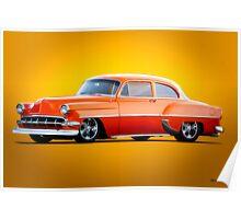 1954 Chevrolet Custom Bel Air Coupe Poster