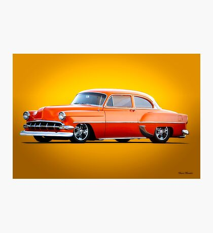 1954 Chevrolet Custom Bel Air Coupe Photographic Print