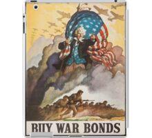 BUY WAR BONDS - Classic World War 2 Propaganda Poster iPad Case/Skin