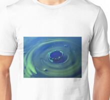 Water Drop Art - Water Drop Photography Splash  - unique print Unisex T-Shirt