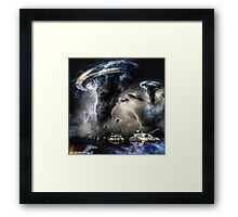 THE FINAL HARVEST ~ ALL FOUGHT OUT Framed Print