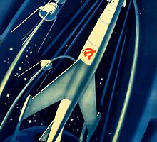 Soviet Propaganda Poster - Space by verypeculiar