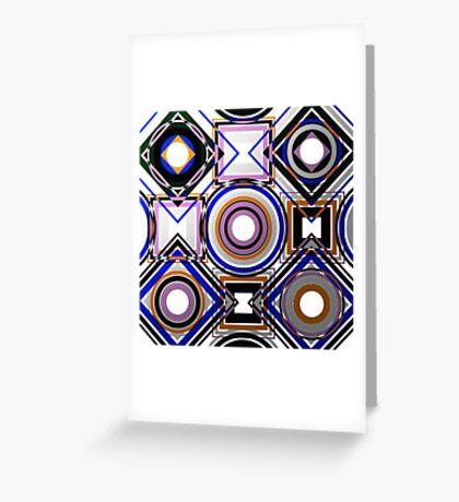 Wacky Metallic Greeting Card