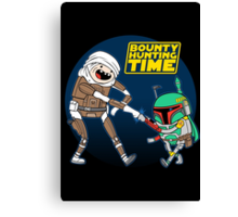 Bounty Hunting Time Canvas Print