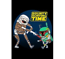 Bounty Hunting Time Photographic Print