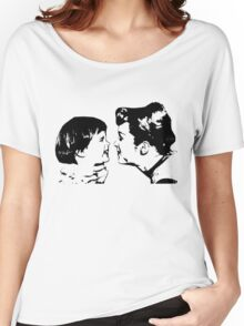Carrie Fisher & Debbie Reynolds Women's Relaxed Fit T-Shirt