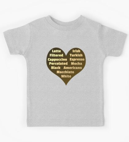 Love for Coffee Kids Tee