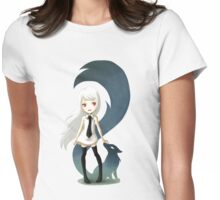 Fox Daemon Womens Fitted T-Shirt