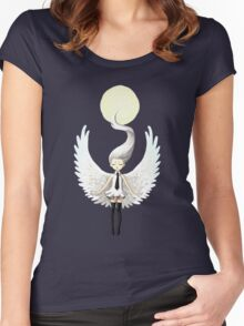 Angel 2 Women's Fitted Scoop T-Shirt
