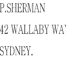 Finding nemo-  42 Wallaby Way Sydney by MollyFowler