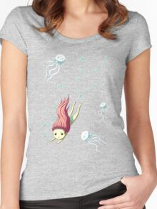 Diver Women's Fitted Scoop T-Shirt