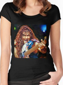 The Trooper painting  Women's Fitted Scoop T-Shirt