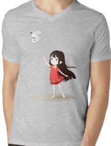Love Letter Mens V-Neck T-Shirt