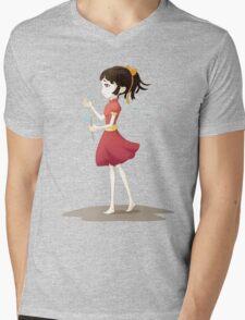 Loves me Not Mens V-Neck T-Shirt