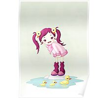Puddle Ducks Poster