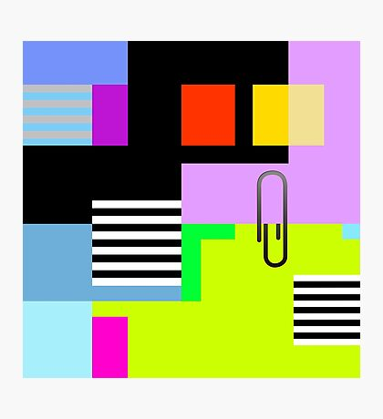 Tidy Office Abstract Photographic Print