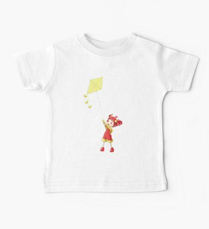 Girl with Kite Baby Tee