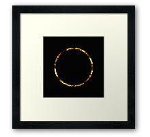 Golden Ring Framed Print