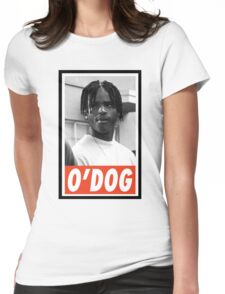 -MOVIES- ODog Menace II Society Womens Fitted T-Shirt