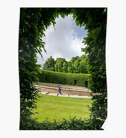Running Through a Window Poster