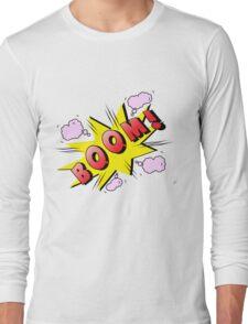 boom Long Sleeve T-Shirt