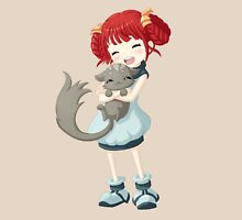 Girl and a Cat T-Shirt