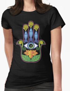 Hamsa with lotos T-Shirt