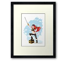 Pirate Girl Framed Print