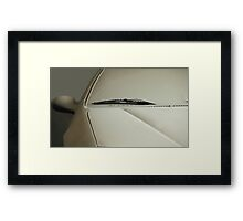 car in the dust Framed Print