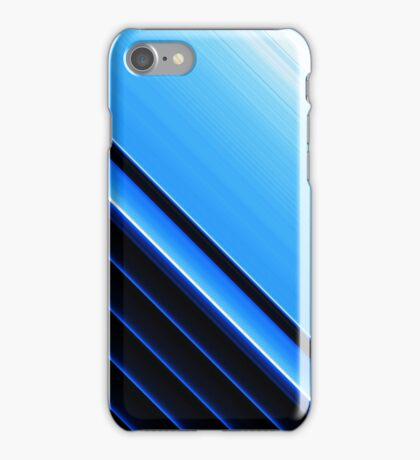 Straight lines Art iPhone Case/Skin