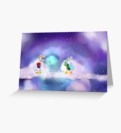 Rayman 1 Screenshot Redraw Greeting Card