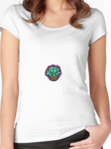 Dandy Dudleya Women's Fitted Scoop T-Shirt