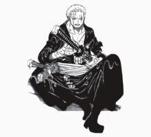 Roronoa Zoro One Piece Baby Tee