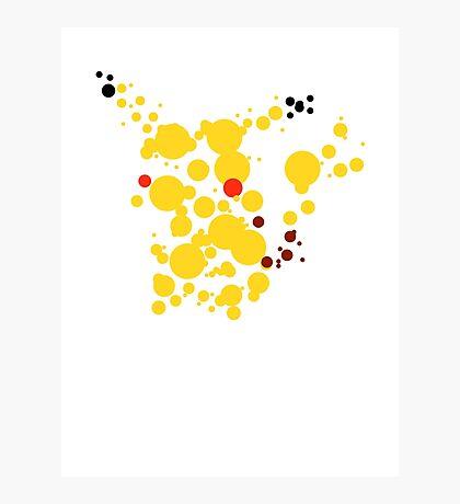 Pikachu Spots Photographic Print