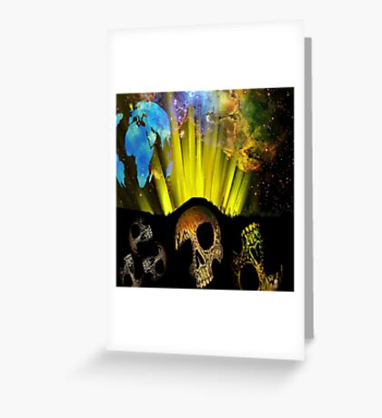 EARTH SPIRIT Greeting Card