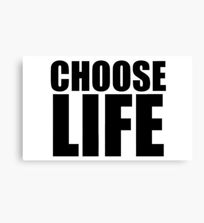 Choose Life - George Michael - Wham Canvas Print