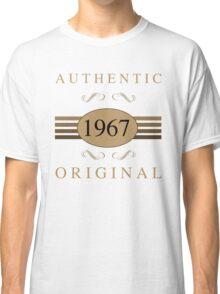 Authentic 1967 Birthday Classic T-Shirt