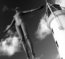 Scarborough Diving Belle by EarlCVans