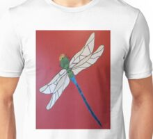 Painted Dragonfly Unisex T-Shirt