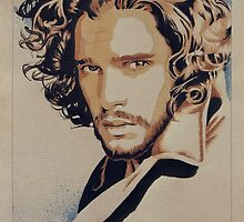 Kit Harington - Game of Thrones by amielkevin