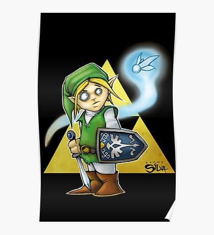 Its Dangerous To Go Alone! Poster
