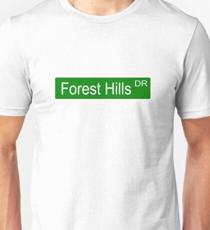 J Cole Street Sign Unisex T-Shirt